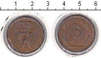 Изображение Монеты Дания 5 эре 1964 Медь XF