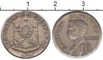 Изображение Монеты Филиппины 10 сентим 1974 Медно-никель XF Бальтазар