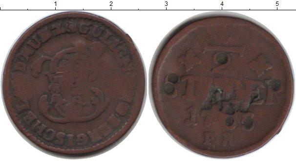 Картинка Монеты Юлих-Берг 1/2 стюбера Медь 0