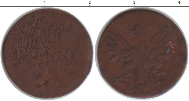 Картинка Монеты Франфуркт 1 пфенниг Медь 0