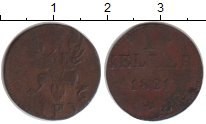 Изображение Монеты Франфуркт 1 геллер 1821 Медь