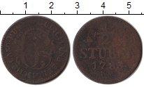 Изображение Монеты Юлих-Берг 1/2 стюбера 1783 Медь