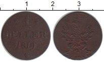Изображение Монеты Франфуркт 1 геллер 1819 Медь VF