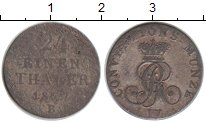 Изображение Монеты Ганновер 1/24 талера 1827 Серебро VF В