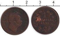 Изображение Монеты Баден 1 крейцер 1846 Медь VF