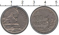Изображение Монеты Франция 100 франков 1954 Керамика VF