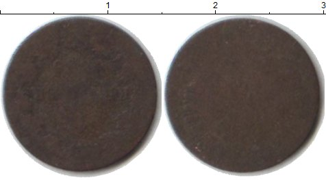 Картинка Монеты Франфуркт 1 крейцер Серебро 1889
