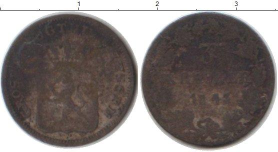 Картинка Монеты Гессен-Дармштадт 3 крейцера Серебро 1843