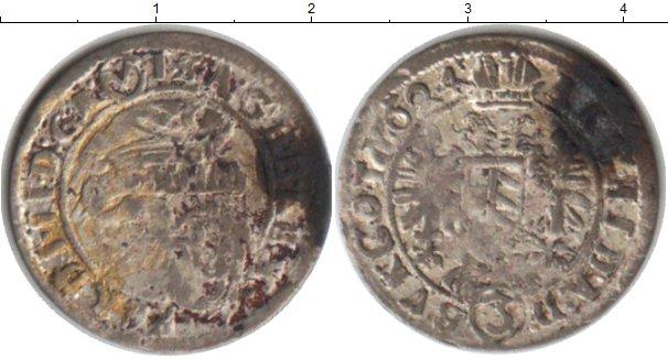 Картинка Монеты Австрия 3 крейцера Серебро 1624