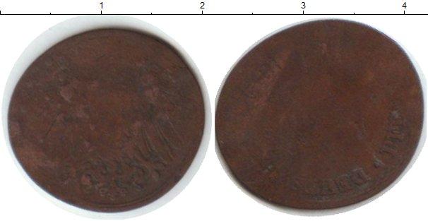 Картинка Монеты Германия 2 пфеннига Медь 0