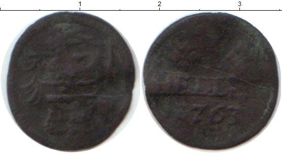 Картинка Монеты Саксония 1 геллер Медь 1762