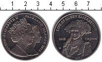 Изображение Монеты Фолклендские острова 1 крона 2012 Медно-никель UNC- Елизавета II
