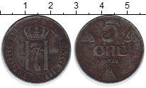 Изображение Монеты Норвегия 5 эре 1920  VF