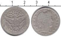 Изображение Монеты США 1/4 доллара 1887 Серебро VF