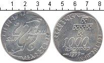 Изображение Монеты Португалия 1.000 эскудо 1999 Серебро UNC- 25 лет апрельской ре