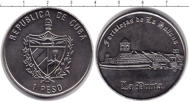 Картинка Монеты Куба 1 песо Медно-никель 2007
