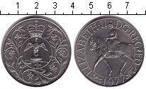 Изображение Монеты Великобритания 25 пенсов 1977 Медно-никель UNC- Елизавета II. 25 лет
