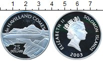 Изображение Монеты Соломоновы острова 25 долларов 2003 Серебро Proof- Елизавета II. de HAV