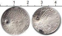 Изображение Монеты Франция 1/12 экю 1661 Серебро  Дырка. Луи XIV