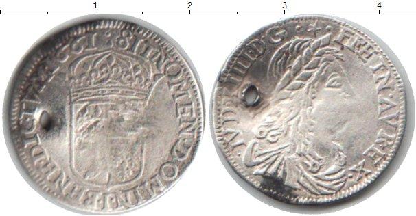 Картинка Монеты Франция 1/12 экю Серебро 1661