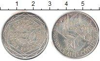 Изображение Монеты Франция 10 евро 2011 Серебро UNC- Регионы Франции. Про