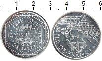 Изображение Монеты Франция 10 евро 2011 Серебро UNC- Регионы Франции. Иль