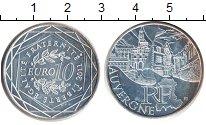 Изображение Монеты Франция 10 евро 2011 Серебро UNC- Регионы Франции. Ове