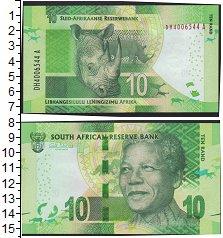 Изображение Боны ЮАР 10 рандов 0  UNC-