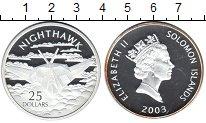 Изображение Монеты Соломоновы острова 25 долларов 2003 Серебро Proof Самолеты мира