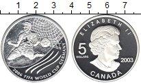 Изображение Монеты Канада 5 долларов 2003 Серебро Proof-