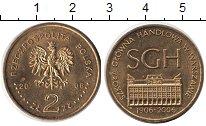 Изображение Монеты Польша 2 злотых 2006 Медно-никель UNC- 100-летие Варшавской
