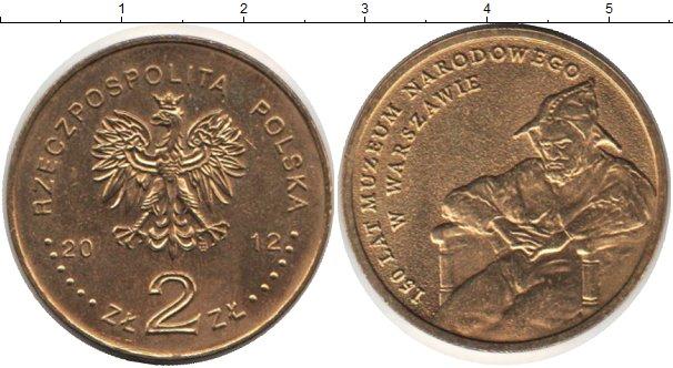 Картинка Монеты Польша 2 злотых Медно-никель 2012
