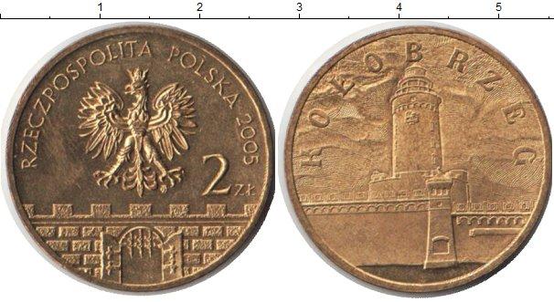 Картинка Монеты Польша 2 злотых Медно-никель 2005