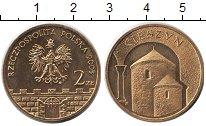 Изображение Мелочь Польша 2 злотых 2005 Латунь UNC-