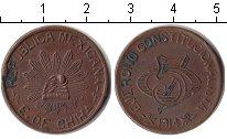 Изображение Монеты Мексика 5 сентаво 1914 Медь XF