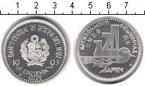 Изображение Монеты Перу 50 соль 1993  Proof-