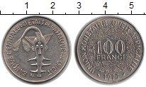 Изображение Монеты Западно-Африканский Союз 100 франков 1977 Медно-никель XF