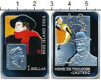 Изображение Монеты Ниуэ 1 доллар 2008 Серебро Proof- Елизавета II. Анри д