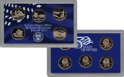 Изображение Подарочные монеты США Памятные четвертаки 2005 Медно-никель Proof Представляем Вам наб