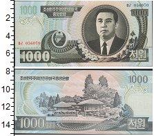 Изображение Боны Северная Корея 1.000 вон 0  UNC-