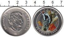 Изображение Монеты Канада 25 центов 2008 Медно-никель UNC- Елизавета II. Птица