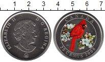 Изображение Монеты Канада 25 центов 2008 Медно-никель UNC- Елизавета II. Попуга