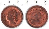 Изображение Монеты Кабо-Верде 20 сентаво 1930 Медь XF