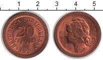 Изображение Монеты Кабо-Верде 20 сентаво 1930 Медь UNC- `Кабо-Верде - португ