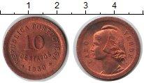 Изображение Монеты Кабо-Верде 10 сентаво 1930 Медь XF `Кабо-Верде - португ