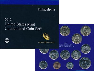 Изображение Подарочные монеты США Выпуск 2012 года 2012  UNC `Представляем Вашему