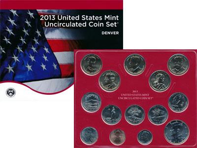 Изображение Подарочные наборы США Выпуск 2013 года 2013  UNC `Представляем Вашему