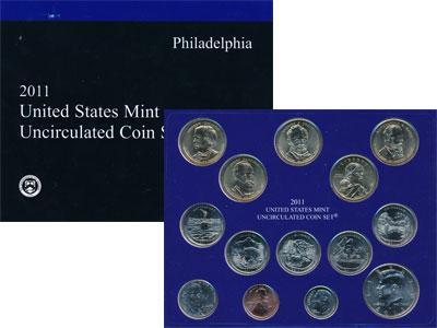 Изображение Подарочные наборы США Выпуск 2011 года 2011  UNC `Представляем Вашему