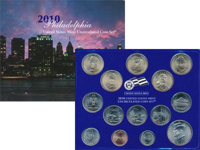 Изображение Подарочные монеты США Выпуск 2010 года 2010  UNC `Представляем Вашему