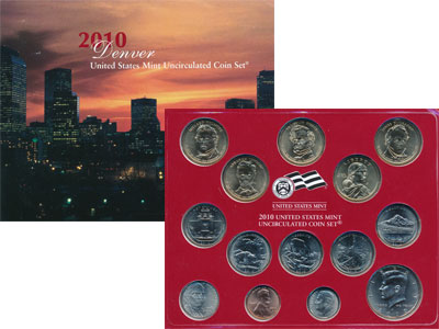 Изображение Подарочные наборы США Выпуск 2010 года 2010  UNC